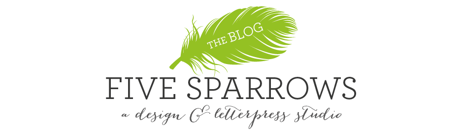 The Five Sparrows Blog